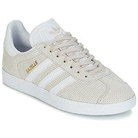 Schuhe Damen Sneaker Low adidas Originals GAZELLE W Beige