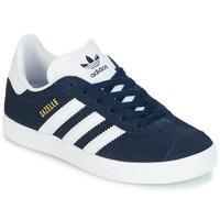 Schuhe Jungen Sneaker Low adidas Originals Gazelle C Marine
