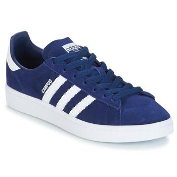 Schuhe Jungen Sneaker Low adidas Originals CAMPUS J Marine