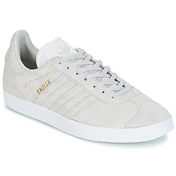Schuhe Sneaker Low adidas Originals GAZELLE Grau