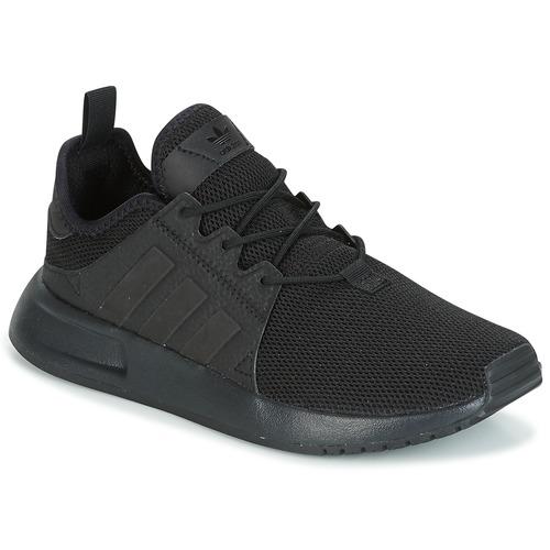 Schuhe Kinder Sneaker Low adidas Originals X_PLR Schwarz