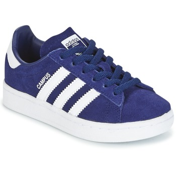Schuhe Jungen Sneaker Low adidas Originals CAMPUS C Marine
