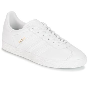 Schuhe Kinder Sneaker Low adidas Originals GAZELLE J Weiss