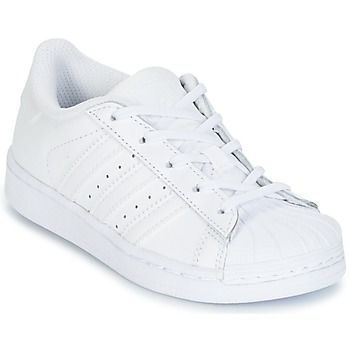 Schuhe Kinder Sneaker Low adidas Originals SUPERTSAR Weiss
