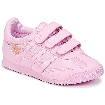 Schuhe Mädchen Sneaker Low adidas Originals DRAGON OG CF I Rose