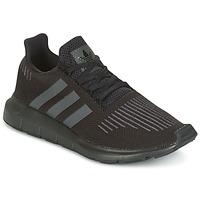 Schuhe Kinder Sneaker Low adidas Originals SWIFT RUN J Schwarz