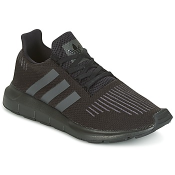 Schuhe Kinder Sneaker Low adidas Originals SWIFT RUN J Schwarz