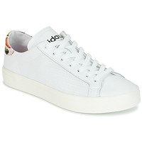 Schuhe Damen Sneaker Low adidas Originals Court Vantage Weiss