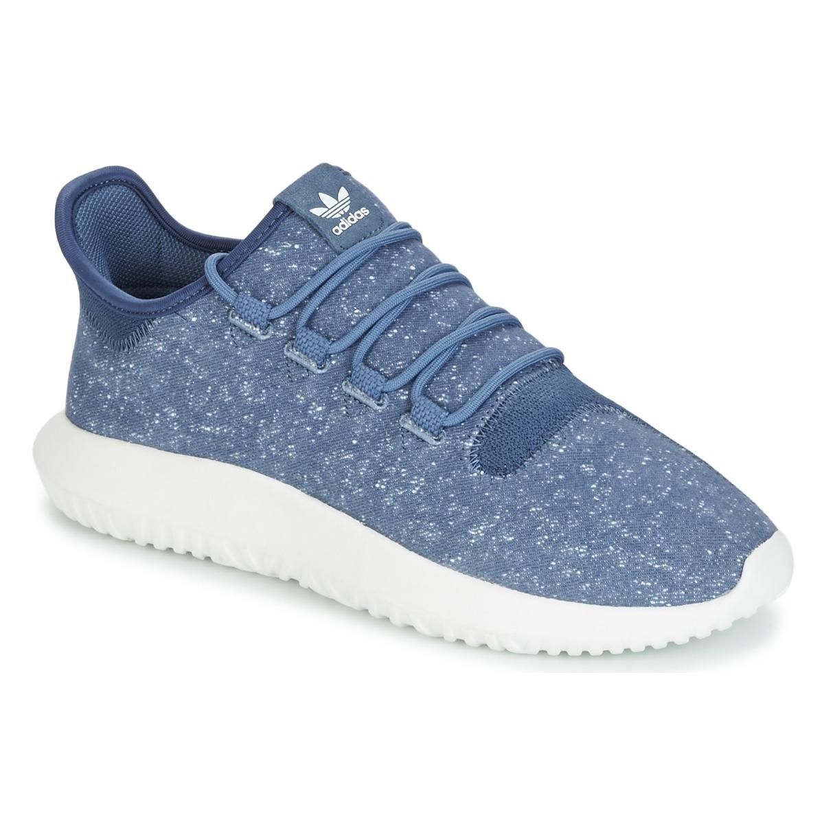 adidas Originals TUBULAR SHADOW Blau - Kostenloser Versand bei Spartoode ! - Schuhe Sneaker Low Herren 70,00 €
