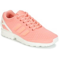 Schuhe Damen Sneaker Low adidas Originals ZX FLUX W Rose / Weiss