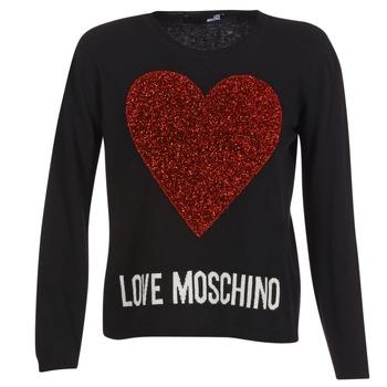 Kleidung Damen Pullover Love Moschino WS89G01X0683 Schwarz