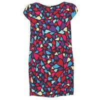 Kleidung Damen Kurze Kleider Love Moschino WVF0300T9171 Multifarben
