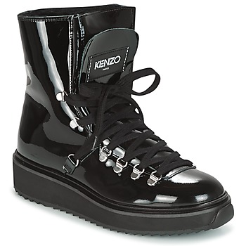 Schuhe Damen Schneestiefel Kenzo ALASKA Schwarz