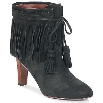 Schuhe Damen Low Boots See by Chloé FLIREL Schwarz