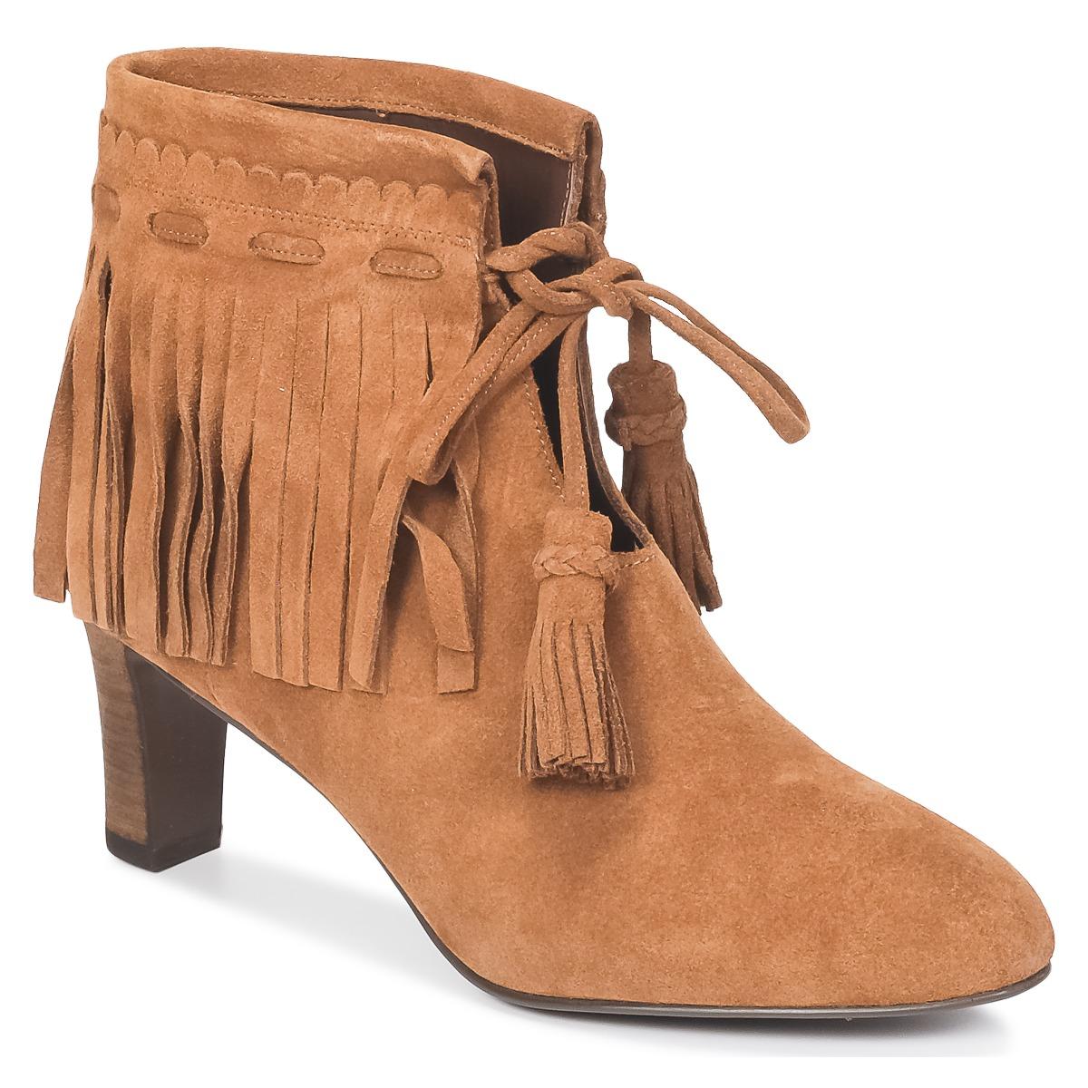 See by Chloé FLARIL Cognac - Kostenloser Versand bei Spartoode ! - Schuhe Low Boots Damen 241,50 €