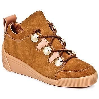 Schuhe Damen Sneaker Low See by Chloé FLAVI Braun