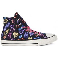 Schuhe Kinder Sneaker High Converse ALL STAR HI  CANVAS PRINT     73,1