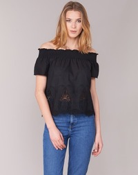 Kleidung Damen Tops / Blusen Betty London GABALI Schwarz