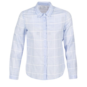 Kleidung Damen Hemden Casual Attitude GAMOU Blau / Weiss