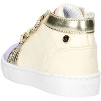 Schuhe Kinder Sneaker Low Melania ME1080B7E.B Hoch Sneakers  Mädchen _ Cremeweiß _ Cremeweiß