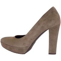 Schuhe Damen Pumps Silvana 4304 Heels' Frau Schlamm Schlamm