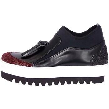 Schuhe Damen Sneaker High Emporio Di Parma 754 Bordeaux
