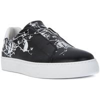 Schuhe Damen Sneaker Low Frau GALAXY NERO Nero