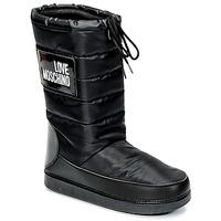 Schuhe Damen Schneestiefel Love Moschino JA24212G04 Schwarz