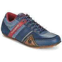 Schuhe Herren Sneaker Low Le Coq Sportif ANDELOT S LEA/2TONES Blau / Rot