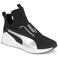 Schuhe Damen Sneaker High Puma FIERCE core Schwarz