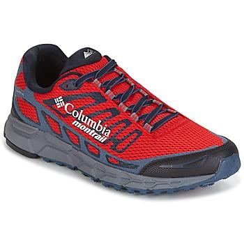 Schuhe Herren Laufschuhe Columbia BAJADA III Rot