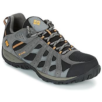 Schuhe Herren Wanderschuhe Columbia REDMOND WATERPROOF Schwarz