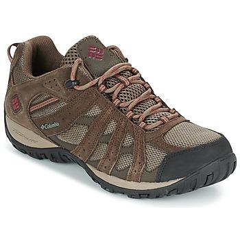 Schuhe Herren Wanderschuhe Columbia REDMOND WATERPROOF Maulwurf