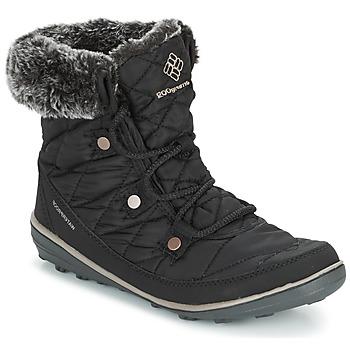 Schuhe Damen Schneestiefel Columbia HEAVENLY SHORTY OMNI-HEAT Schwarz