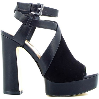 Schuhe Damen Sandalen / Sandaletten Guess FLLYA1 SUE09 High heeled sandals Frauen Black Black