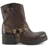 Schuhe Damen Low Boots Café Noir  168 MARRONE