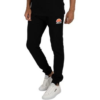 Kleidung Herren Jogginghosen Ellesse Herren Joggers Ovest Logo, Schwarz schwarz