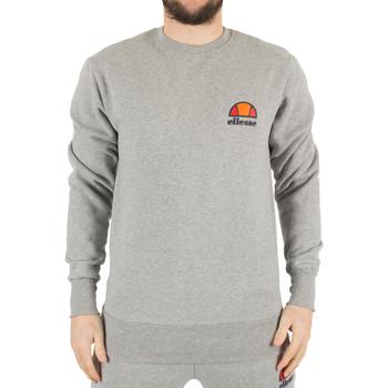 Kleidung Herren Sweatshirts Ellesse Herren Diveria Links oben Logo-Sweatshirt, Grau grau