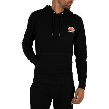 Kleidung Herren Sweatshirts Ellesse Herren Toce Left Logo Hoodie, Schwarz schwarz