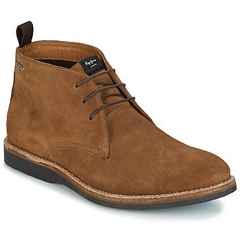 Schuhe Herren Boots Pepe jeans KENT CHUCCA Braun