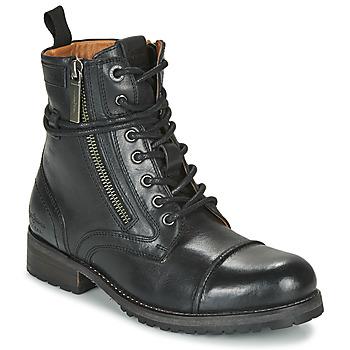 Schuhe Damen Boots Pepe jeans MELTING Schwarz
