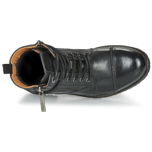 Pepe jeans Schuhe MELTING Schwarz  Schuhe jeans Boots Damen 139 2a932b