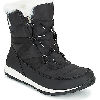 Schuhe Damen Schneestiefel Sorel WHITNEY SHORT LACE Schwarz