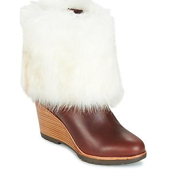 Schuhe Damen Boots Sorel PARK CITY SHORT Braun