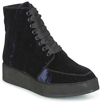 Schuhe Damen Boots Castaner FORTALEZA Blau