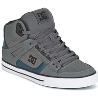 Schuhe Herren Sneaker High DC Shoes SPARTAN HIGH WC Grau / Grün