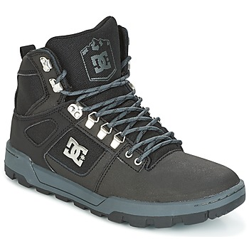 Schuhe Herren Sneaker High DC Shoes SPARTAN HIGH WR Schwarz / Grau