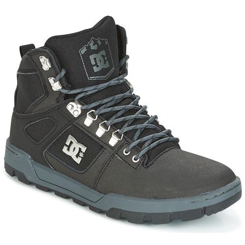 DC Shoes SPARTAN HIGH WR Schwarz / Grau  Schuhe Sneaker High Herren 111,20