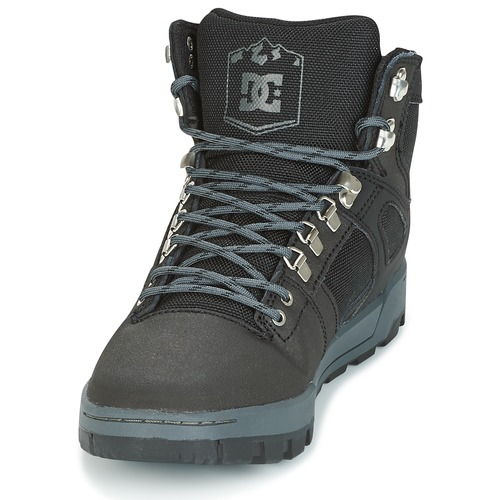 DC Shoes SPARTAN HIGH WR Schwarz /  Grau  / Schuhe Sneaker High Herren 111,20 53c4c7