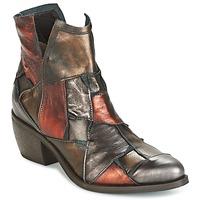 Schuhe Damen Boots Dkode JOELLE-MULTICOLORE-029 Braun